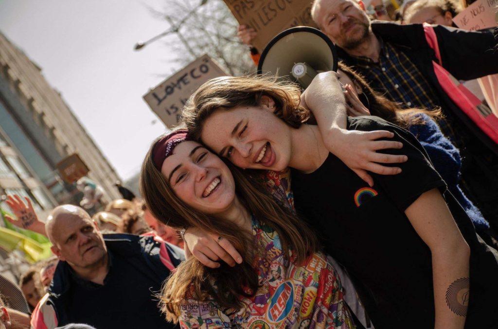 Anuna De Wever and Adélaïde Charlier