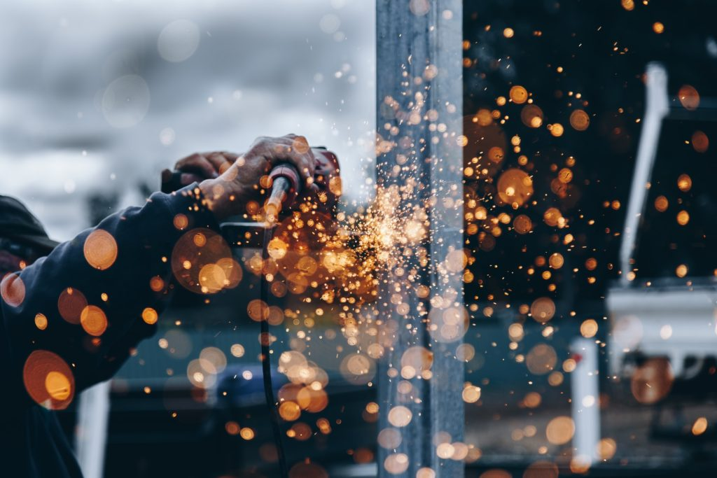 Metal worker/ CC0 Christopher Burns