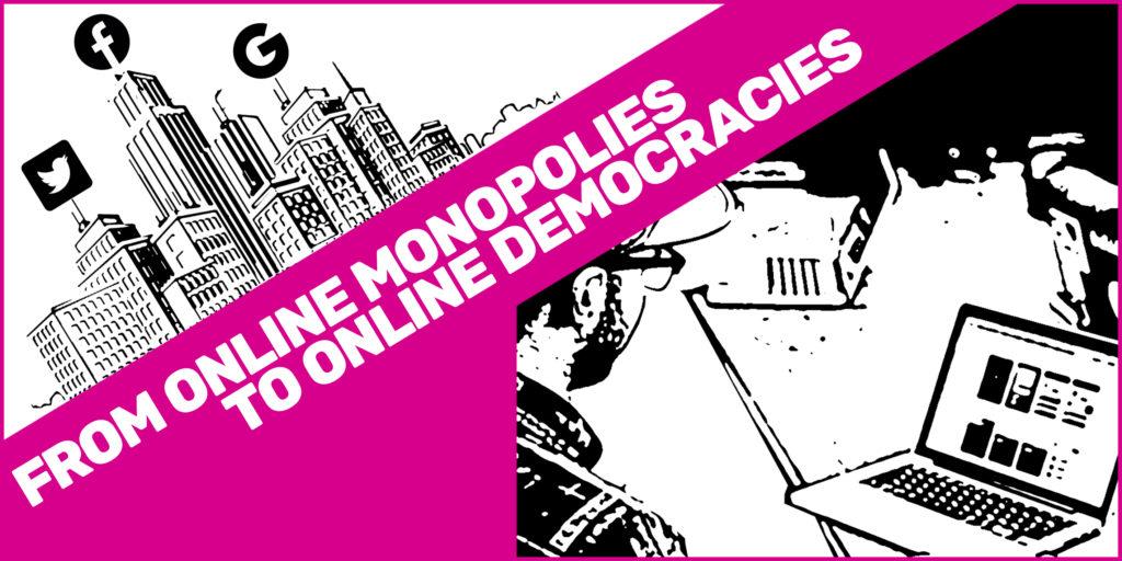 Online democracy visual