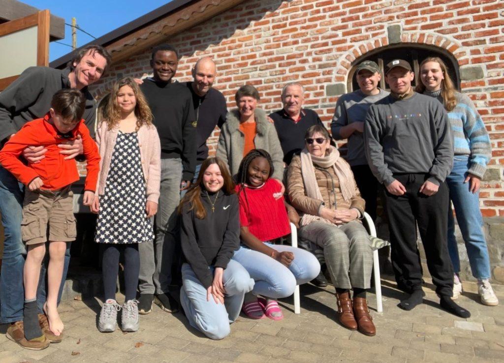 Family photo in Londerzeel