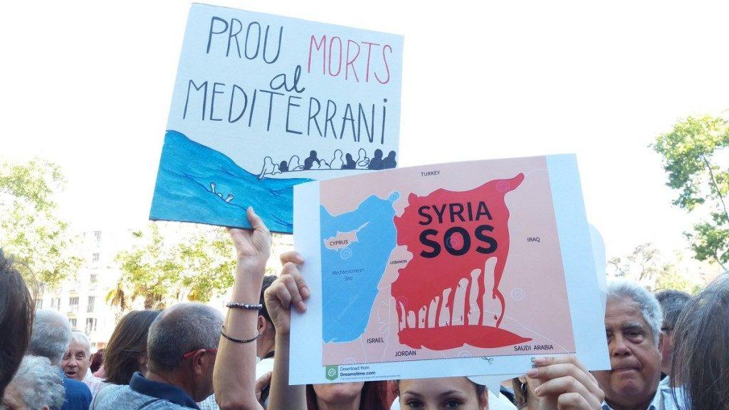 Demonstration for open borders June 2016