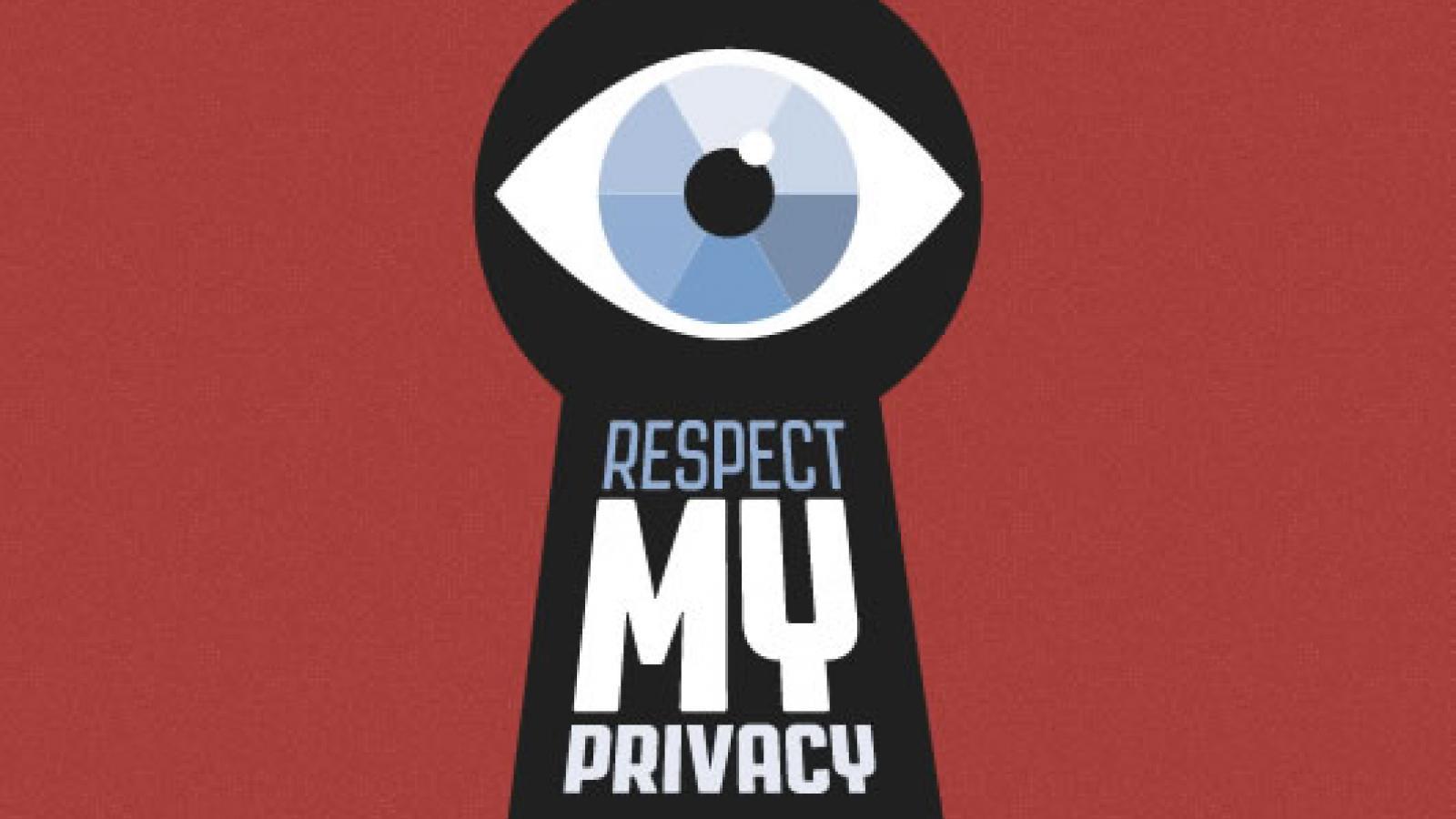 respect my privacy greens efa Cartoon Sheild My Privacy respect my privacy