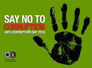 Anti Corruption Images anti corruption day 2016   greens/efa